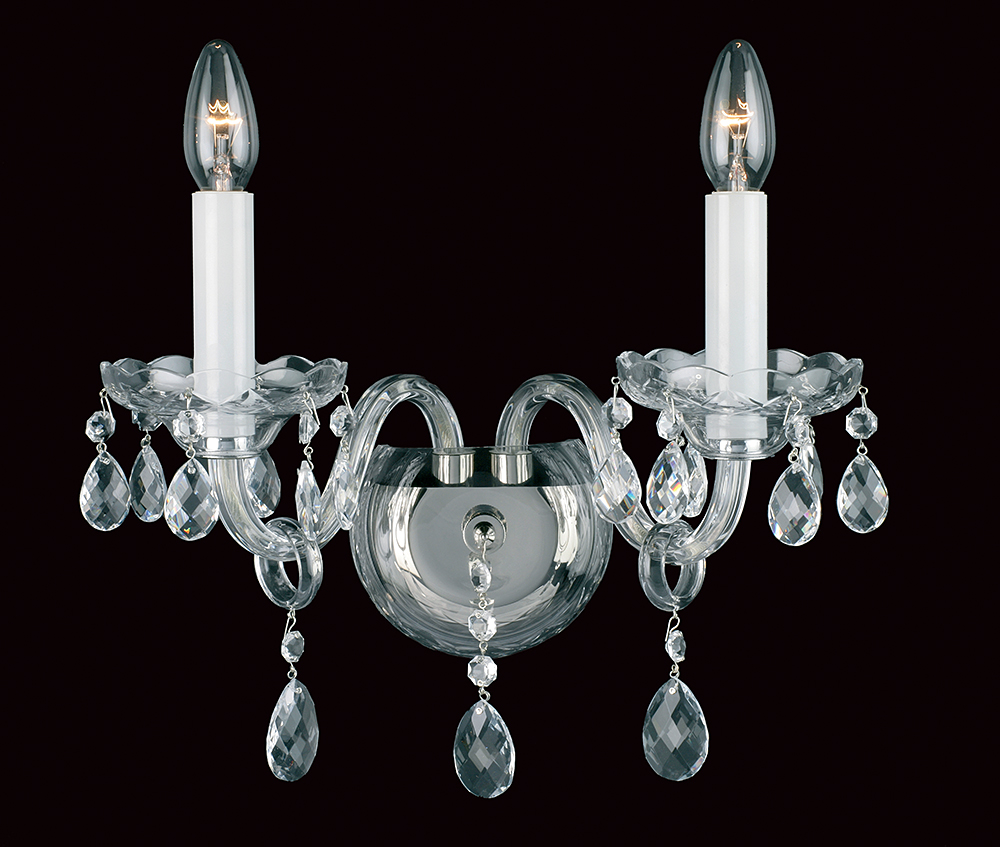 DOLNI CRYSTAL WALL LT NICKEL