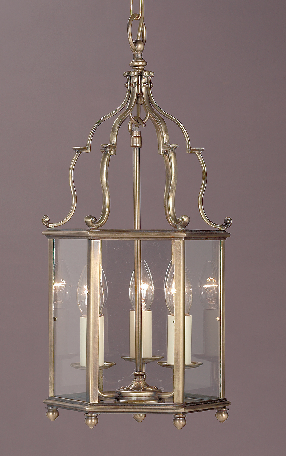 Belgravia 3lt Antique Brass